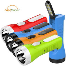 Wholesale 2W abs plastic rechargeable flashlight from Hopeforever ...