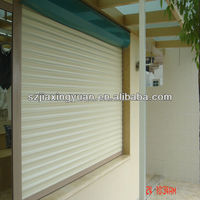 European Aluminum Fire Rated Rolling Shutter With Pu Foam