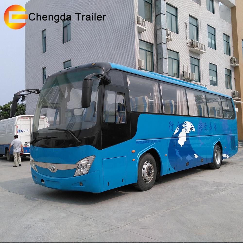 luxury bus Higer 4x2 City Mini Bus 24 Seats Used buses for sale
