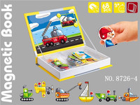 New listed! 68pcs Common transport series eduction toy magnetic puzzle