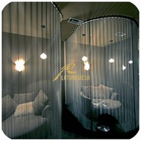 Decorative background wall Metal coil drapery,room divider