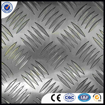 1050,3003 Aluminium checker plate/ aluminium checkered plate