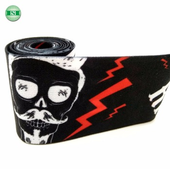 Cool man design elastic band rubber tape
