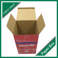 SINGLE WALL CARDBOARD PACKAGING FOR BALLOON