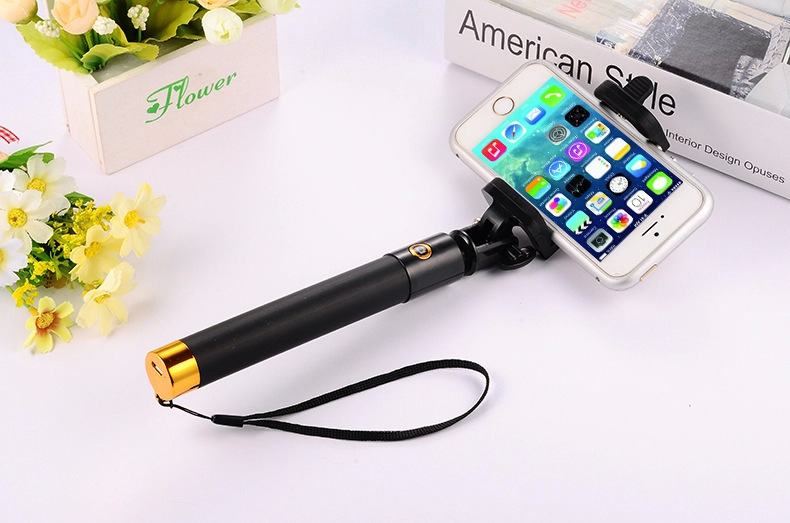 Newest Mini Protable Bluetooth Selfie Stick For Iphone/Samsung Smart Phone Monopod with Bluetooth Free Shipping by DHL