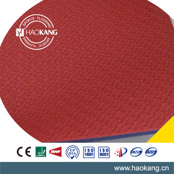 Super Antislip Indoor PVC Sports Flooring for Table Tennis Courts