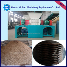Strong tree branch crusher machine with durable knives from Yinhao Brand