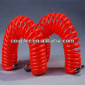 Red PU AIR Coil HOSE with Japan type connectors