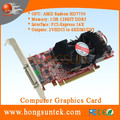 OEM AMD Radeon HD7750 1GB GDDR5 PCIE3.0 2VHDCI ports to 6HDVII/DVI ports Multi-screen graphics Card support six monitors