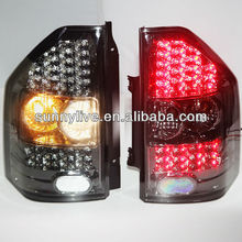 For MITSUBISHI Montero Pajero V73 LED Tail Lamps 2000-2011 year All Black Color