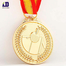Customized table tennis metal medal