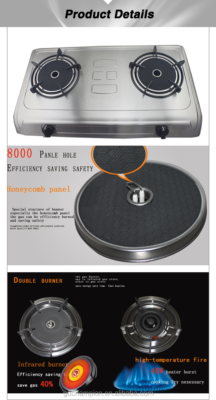 2015 hot sale Kitchen Appliances High Presser energy conservation Gas Stove , gas burner ,gas cooker