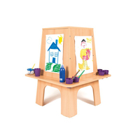 Kids Wooden Educational Mini Storage Art