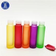 Hot sale 3ml 5ml 10ml amber clear glass roll on bottles with stainless steel roller ball or glass ball
