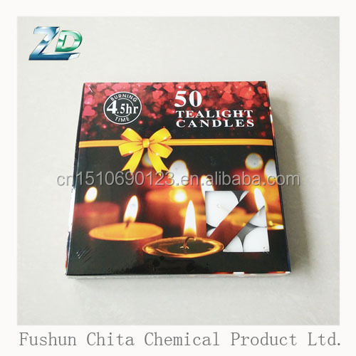 long burning time multi-color decorative pouring tealight candle