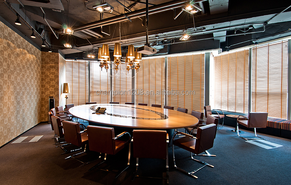 modern office furniture oval conference table meeting room