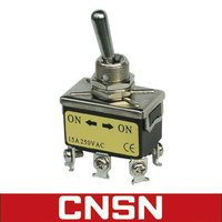 Toggle switch 1321 6 way 15A 250V ON ON