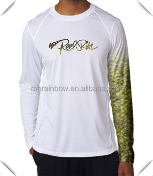 Spf50 coolmax dry fit breathable long sleeve performance for Best fishing shirts men