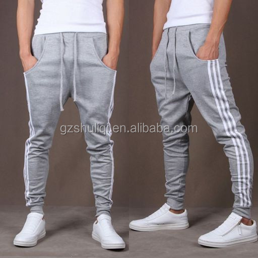 2016 fashion bamboo compression harem pants for adult