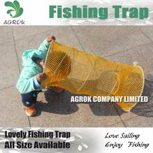 Yellow Spring Trap Crayfish Fishing Cage For Korea