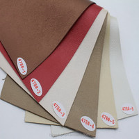 Soft Elastic Embossed PVC Leather