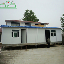 Good quality flat pack container family prefabricated living house