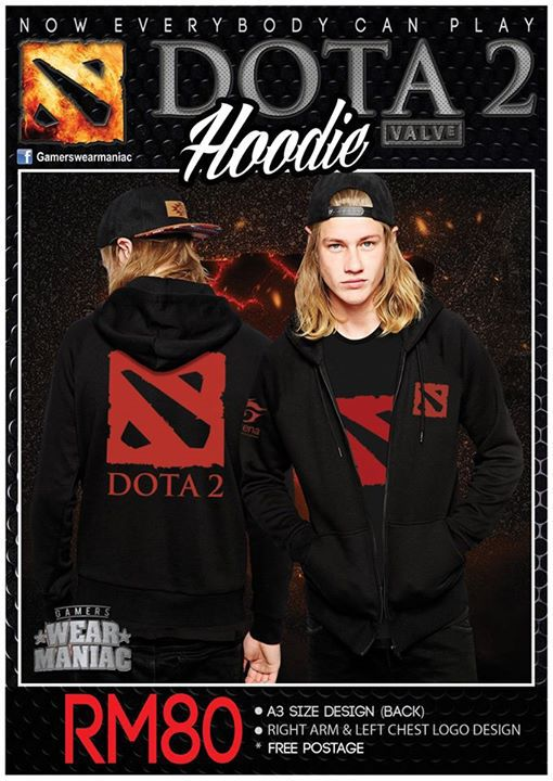 DOTA 2 EXCLUSIVE TSHIRT AND HOODIE