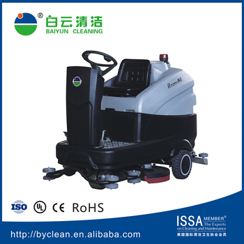A905 Scrubber Cleaning Equipment Ride-on Floor Scrubber(Touch Screen)