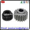 lathe machined compound gear,straight teeth spur gear mounted on parallel shaft,anodized 5052/6061/7075 aluminum small spur gear
