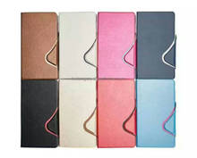 TPU newest Pu Leather Case For samsung TAB 2 3 4 tablet PC Case stand up
