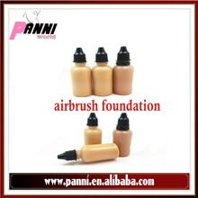 Professional Airbrush foundation Cosmetic Makeup Foundation/Make your own brand