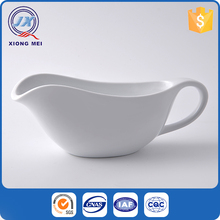 Wholesale hotel restaurant porcelain dinnerware insulated boats gravy sale