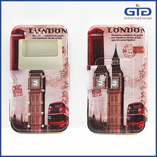 Low Price China Mobile Phone PU Leather Universal Case