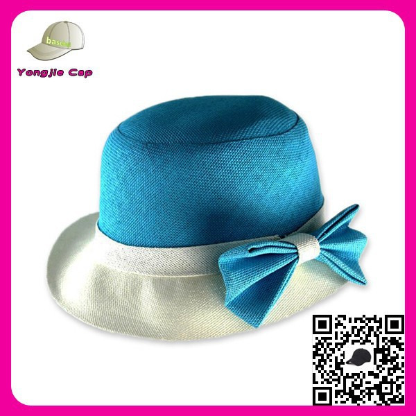 Custom Women Floppy Hat Wide Roll up China multi color straw hat