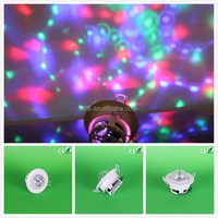 Best price Sound ativated LED full color ceiling rotating stage light supplier