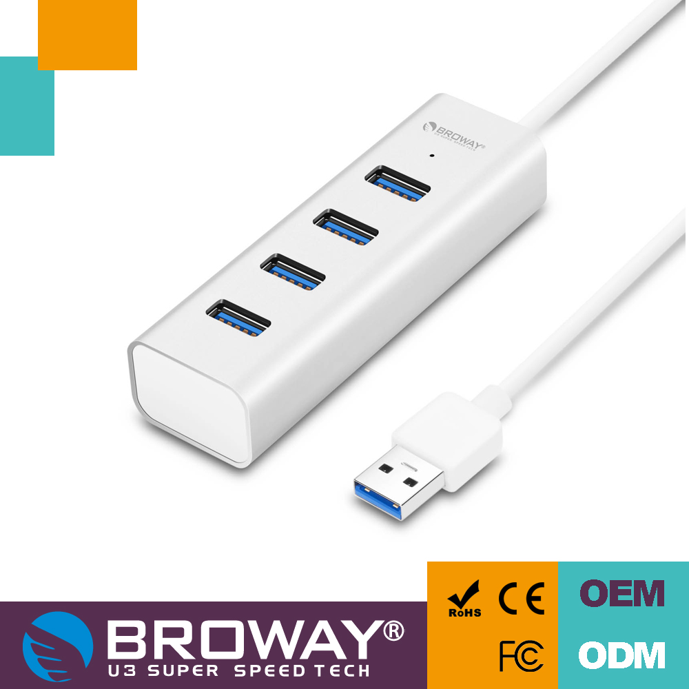 Aluminum Unibody Usb 3.0 Super Speed Hub