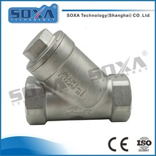 Sanitary stainless steel 304 y type cut off valve angle stop valve