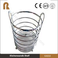 round kitchen dish dryer utensil holder storage organizer
