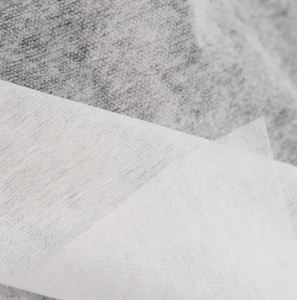 100% PES Europe Standard Single Dot Fusible Nonwoven Interlining Fabric