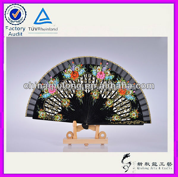 Handicrafts Wholesale Wooden Products Foldable Fan