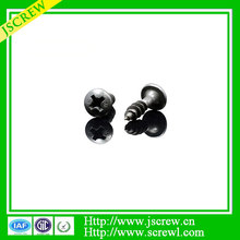 7# black stainless steel bolts screw for sawing machine