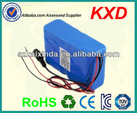shenzhen rechargeable 18650 li ion battery 25.9v 10ah