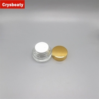 China Wholesale glass jar gold lid in