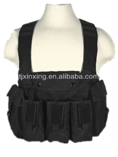 AK47 Airsoft Vest with 3 Magazine pouch, Airsoft Paintball Tactical Combat Assault Vest, Tactical&Military&Airsoft Vest