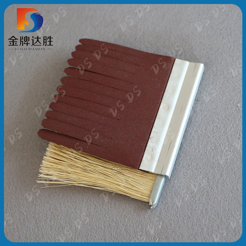 China Manufacturer Wood Polish Brush With Sander Paper