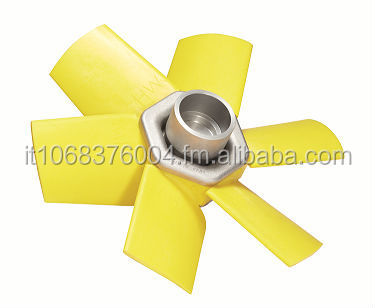 Hasconwing TS fixed pitch airfoil profile axial flow fans, diameter up to 900mm