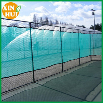 softball field netting custom wind screens