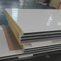 Steel building material sandwich panel rock wool