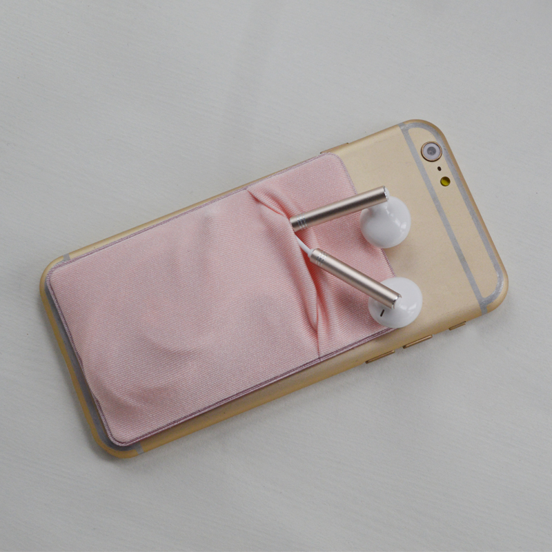 hot selling mobile <strong>accessories</strong> painting sticky phone silicone bus card holder
