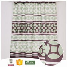 Newest Design Useful Colorful polka dot shower curtain